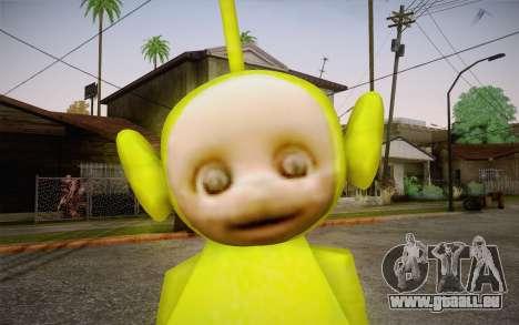 Despi (Teletubbies) pour GTA San Andreas troisième écran