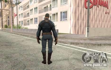 Captain America pour GTA San Andreas deuxième écran