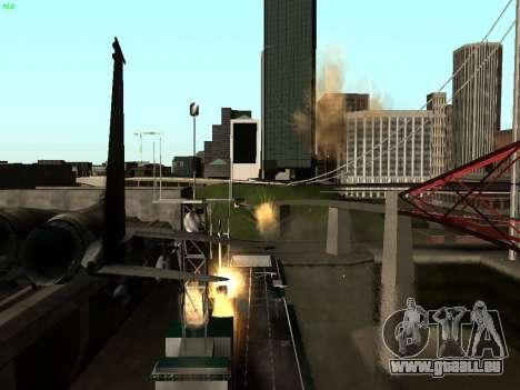 ENB Series by Makar_SmW86 [SAMP] pour GTA San Andreas troisième écran