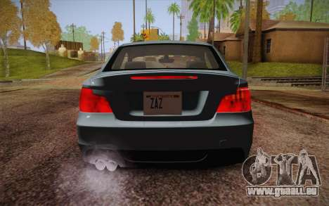 BMW 135i Limited Edition für GTA San Andreas Unteransicht