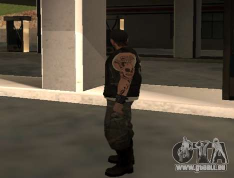 Motard de la part du club des Routes Anges pour GTA San Andreas deuxième écran