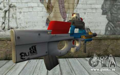 P90 MC Latin 3 from Point Blank für GTA San Andreas zweiten Screenshot