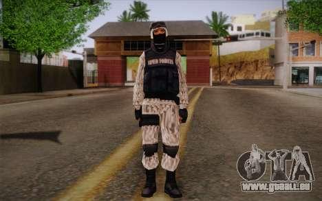 SWAT Snow Camo pour GTA San Andreas