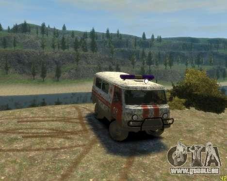 UAZ 39629 Krankenwagen für GTA 4