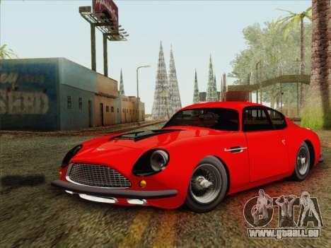 Aston Martin DB4 Zagato 1960 für GTA San Andreas