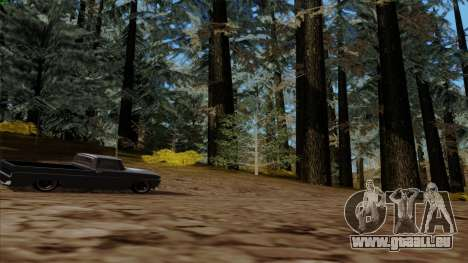 Der Dichte Wald v2 für GTA San Andreas fünften Screenshot