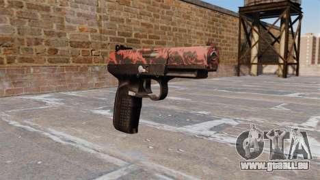 Pistolet FN Cinq à sept tigre Rouge pour GTA 4