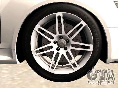 Audi RS6 pour GTA San Andreas vue de côté