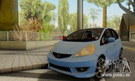 Honda Fit Stock 2009 für GTA San Andreas