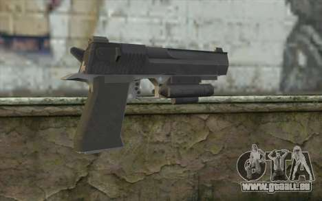 Desert Eagle from Modern Warfare 2 pour GTA San Andreas deuxième écran
