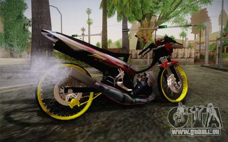 Yamaha Tiara S120 Speed MX drag für GTA San Andreas linke Ansicht