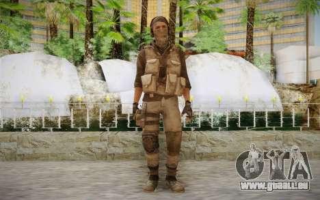 Mercenaire en armure (COD MW3) pour GTA San Andreas