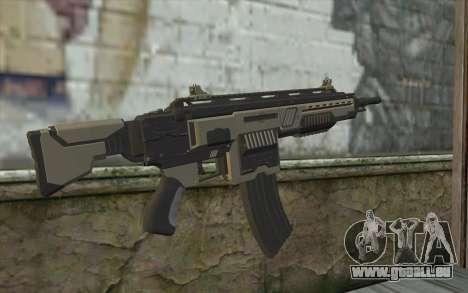 NS-15M Machine Gun from Planetside 2 pour GTA San Andreas deuxième écran