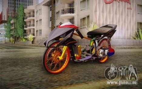 Honda Click 125i für GTA San Andreas