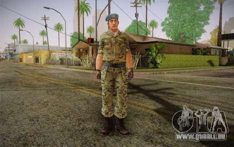 Le caporal VDV pour GTA San Andreas