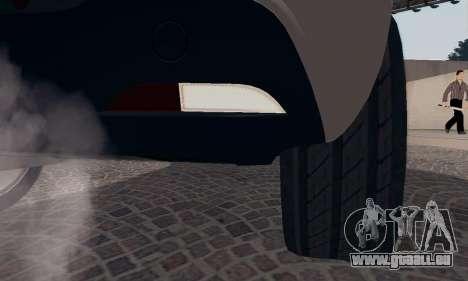 Afla Romeo Mito Quadrifoglio Verde für GTA San Andreas Innen