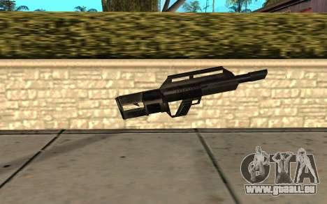 Jackhammer de Max Payne pour GTA San Andreas