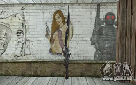 Lightnings Sword from Final Fantasy für GTA San Andreas zweiten Screenshot