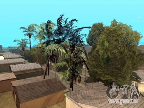 Dschungel auf einer Straße Aztec für GTA San Andreas