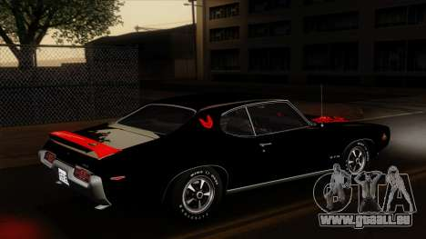 Pontiac GTO The Judge Hardtop Coupe 1969 für GTA San Andreas Motor