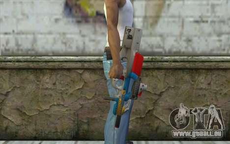 P90 MC Latin 3 from Point Blank für GTA San Andreas dritten Screenshot