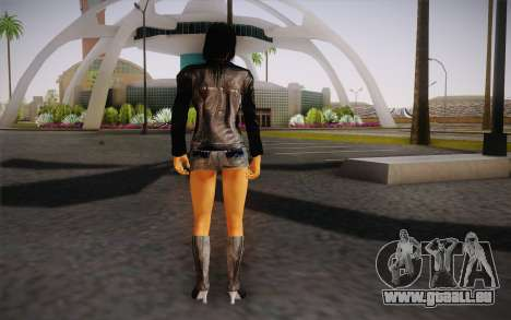 Jill Biker pour GTA San Andreas deuxième écran