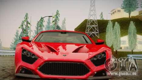 Zenvo ST1 SLow 2010 pour GTA San Andreas