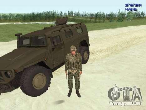Die Kämpfer der Russischen Armee für GTA San Andreas neunten Screenshot