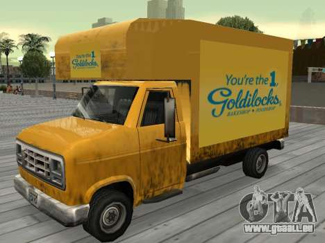 Neue Werbung auf Autos für GTA San Andreas zwölften Screenshot