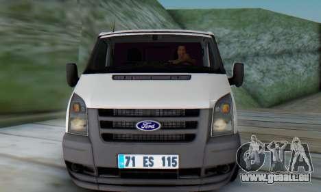 Ford Transit Pikap für GTA San Andreas linke Ansicht