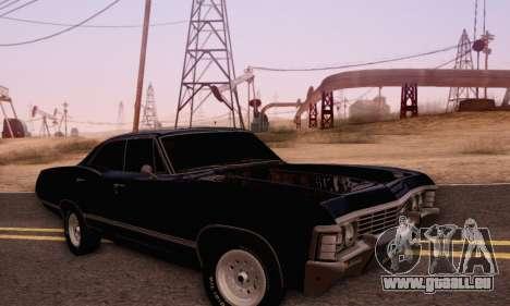 Chevrolet Impala 1967 Supernatural pour GTA San Andreas