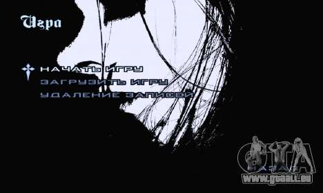 Black-Metal-Menü (Vollbild -) für GTA San Andreas dritten Screenshot