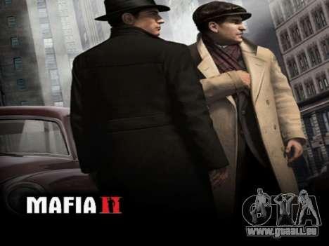 L'écran de démarrage de Mafia II pour GTA San Andreas quatrième écran