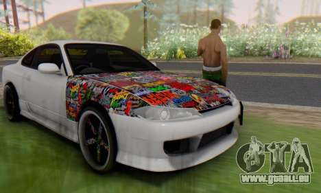 Nissan Silvia S15 Metal Style pour GTA San Andreas