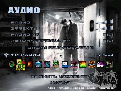L'écran de démarrage de Mafia II pour GTA San Andreas neuvième écran
