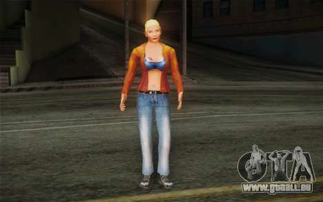 Woman Autoracer from FlatOut v1 pour GTA San Andreas