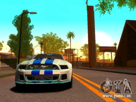 ENBSeries Realistic Beta v1.0 pour GTA San Andreas troisième écran