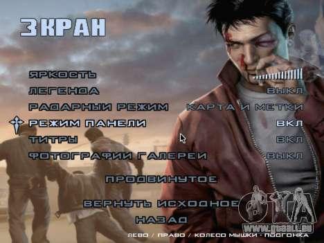 L'écran de démarrage de Mafia II pour GTA San Andreas douzième écran