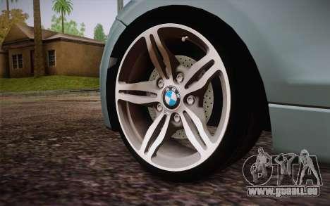 BMW 135i Limited Edition für GTA San Andreas zurück linke Ansicht