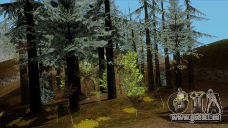 Der Dichte Wald v2 für GTA San Andreas dritten Screenshot