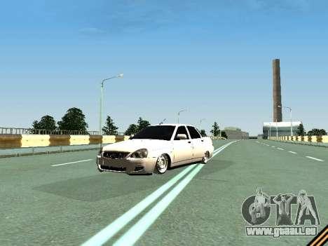 VAZ 2110-2170 pour GTA San Andreas vue arrière