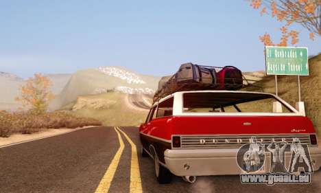 Dundreary Regina V1.0 pour GTA San Andreas vue arrière