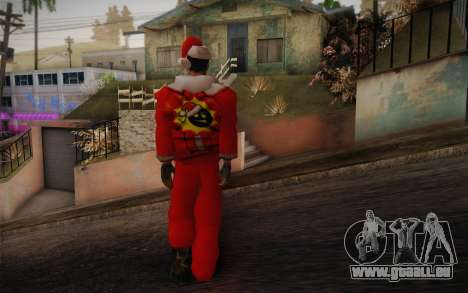 Santa Sam für GTA San Andreas zweiten Screenshot