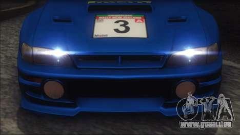Subaru Impreza 22B STi 1998 pour GTA San Andreas