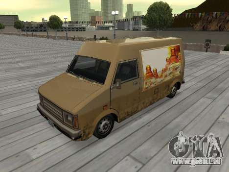 Neue Werbung auf Autos für GTA San Andreas