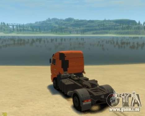 Die KamAZ-5460 für GTA 4 linke Ansicht