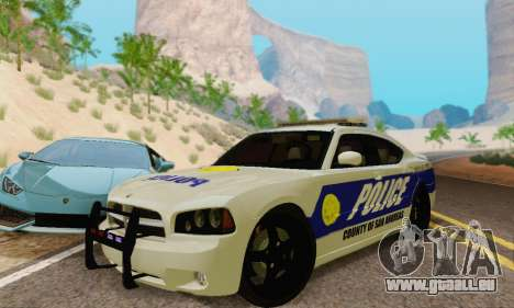 Pursuit Edition Police Dodge Charger SRT8 für GTA San Andreas