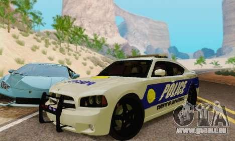 Pursuit Edition Police Dodge Charger SRT8 pour GTA San Andreas