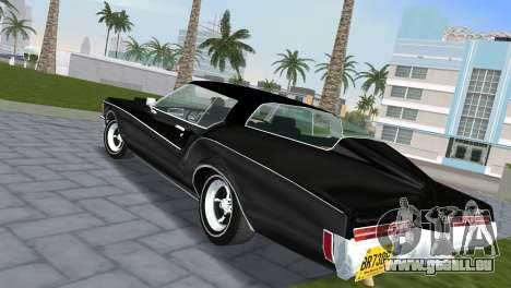 Buick Riviera 1972 Boattail für GTA Vice City linke Ansicht