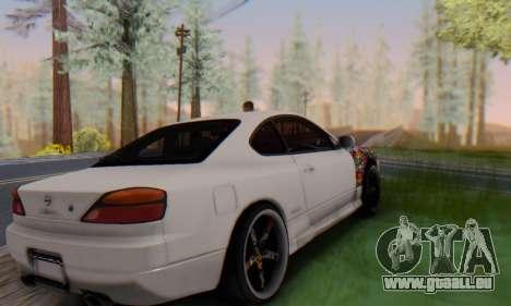 Nissan Silvia S15 Metal Style pour GTA San Andreas laissé vue